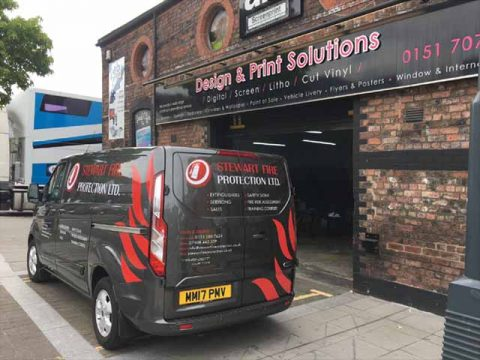 vehicle graphics liverpool, vehicle livery liverpool